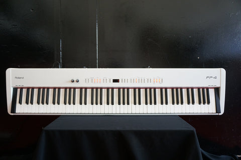 Roland FP-4 White Digital Electronic Piano Keyboard W/ MIDI