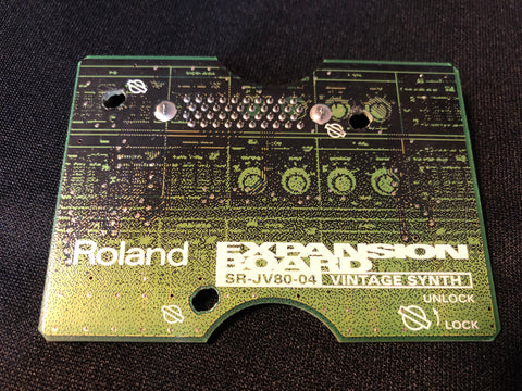 Roland SR-JV80-04 VINTAGE SYNTH Expansion Board JV-1080 JV-2080 XV-5080 JD-990