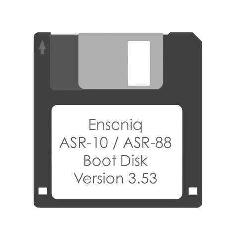Ensoniq ASR-10 / ASR-88 Boot Disk Version 3.53 - Floppy Disk Made To Order