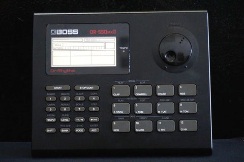 Roland Boss Dr Rhythm DR 550 MK II Portable Drum Machine