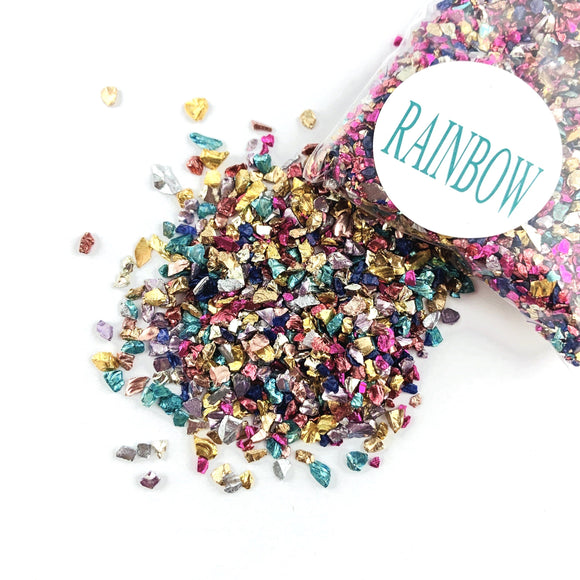 CRUSHED GLASS - RAINBOW