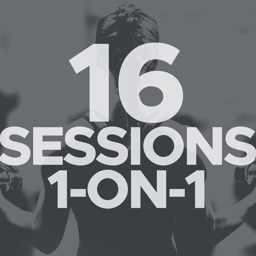 16 Sessions 1-on-1
