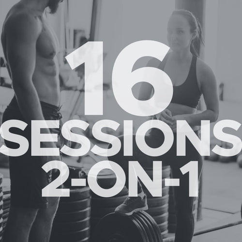 16 Sessions 2-on-1