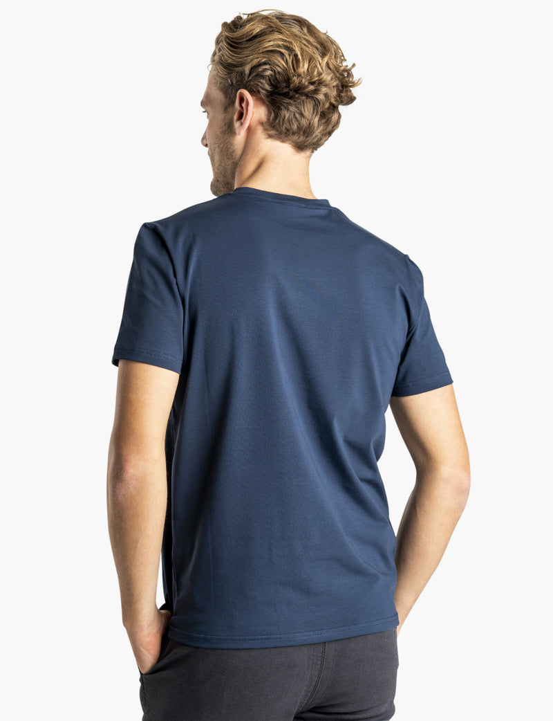 SNT Supima T-shirt Navy
