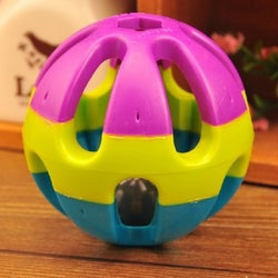 Jingle Ring Ball Pet Cat Dog toy