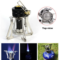 Camping mini gas stove