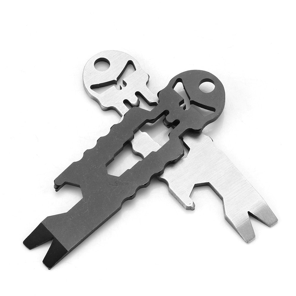 Multi-Tool (Bottle Opener /6 Specification Wrench /Crowbar/Key Chain/Nail Device /Screwdriver)