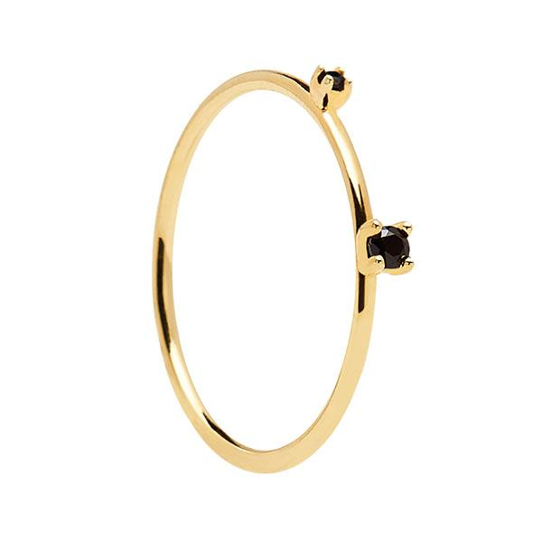 Anillo Black Kita Gold