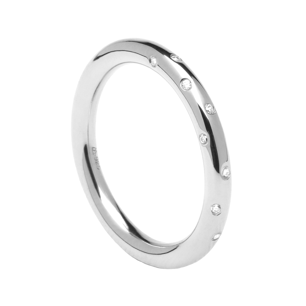 Anillo Satellite Silver