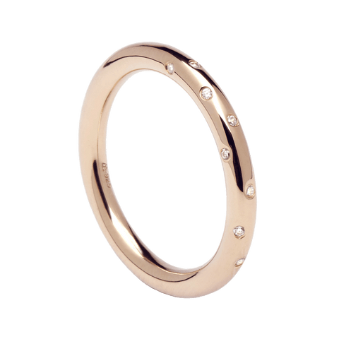 18k Rose Gold Plated 925 Sterling Silver