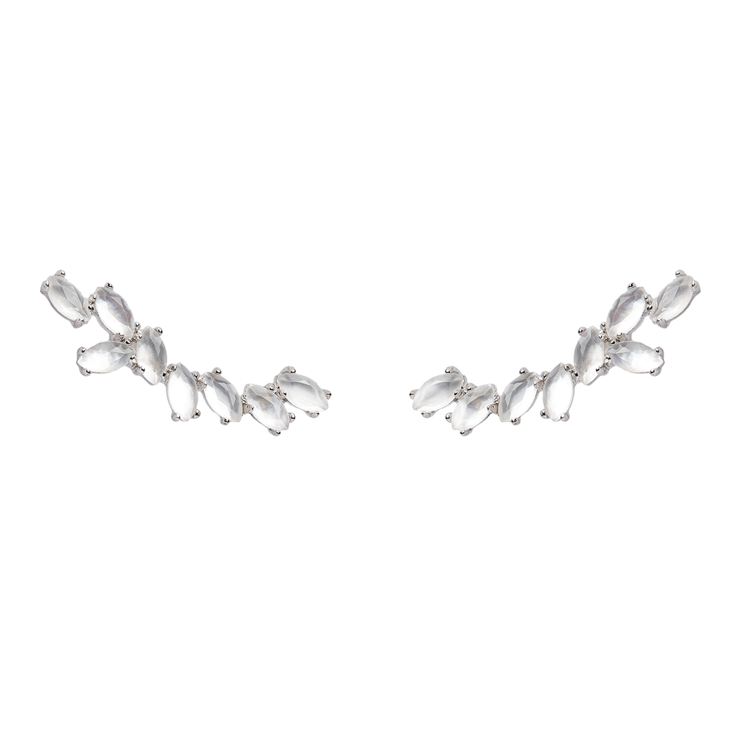 Pendientes Grand Safari Silver