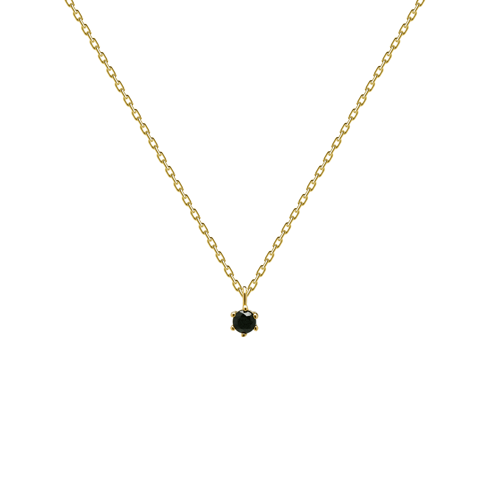 Collar Black Holiday Gold