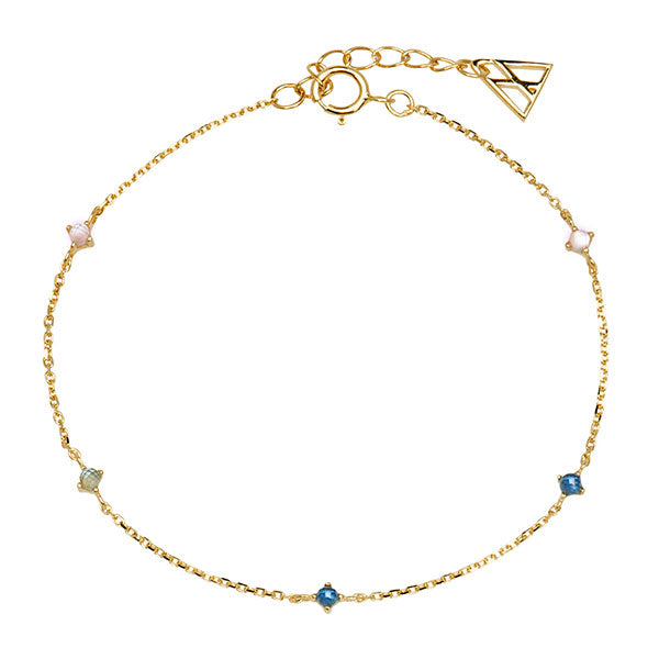 Pulsera Navy Gold