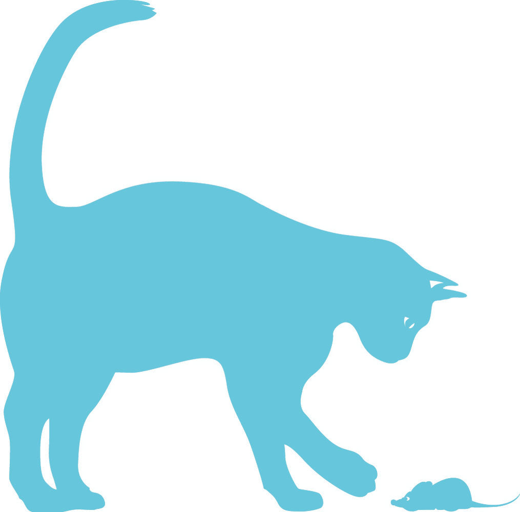 Wall Stickers Gatto e Topo MyCollection