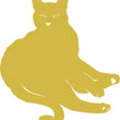 Wall Stickers Gatto Sdraiato MyCollection