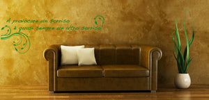 Wall Stickers A provocare un sorriso MyCollection