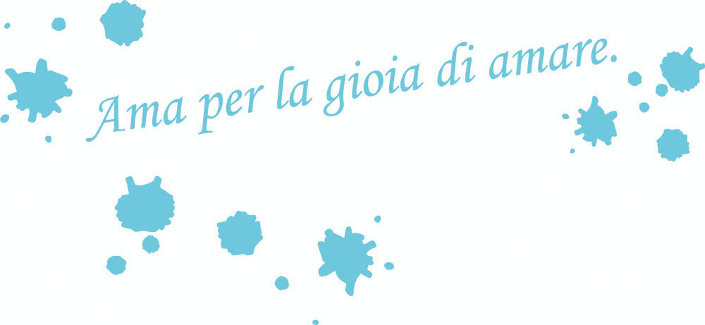 Wall Stickers Ama per la gioia di amare MyCollection