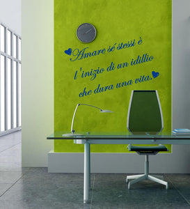 Wall Stickers Amare se stessi MyCollection
