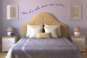 Wall Stickers Amor ch'a o amato MyCollection