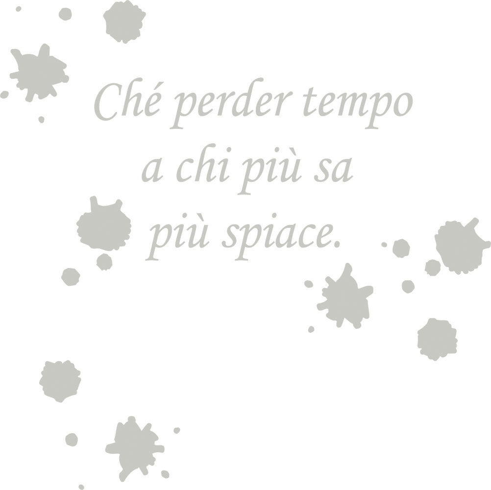 Wall Stickers Che perder tempo MyCollection