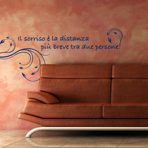 Il sorriso Wall Stickers MyCollection