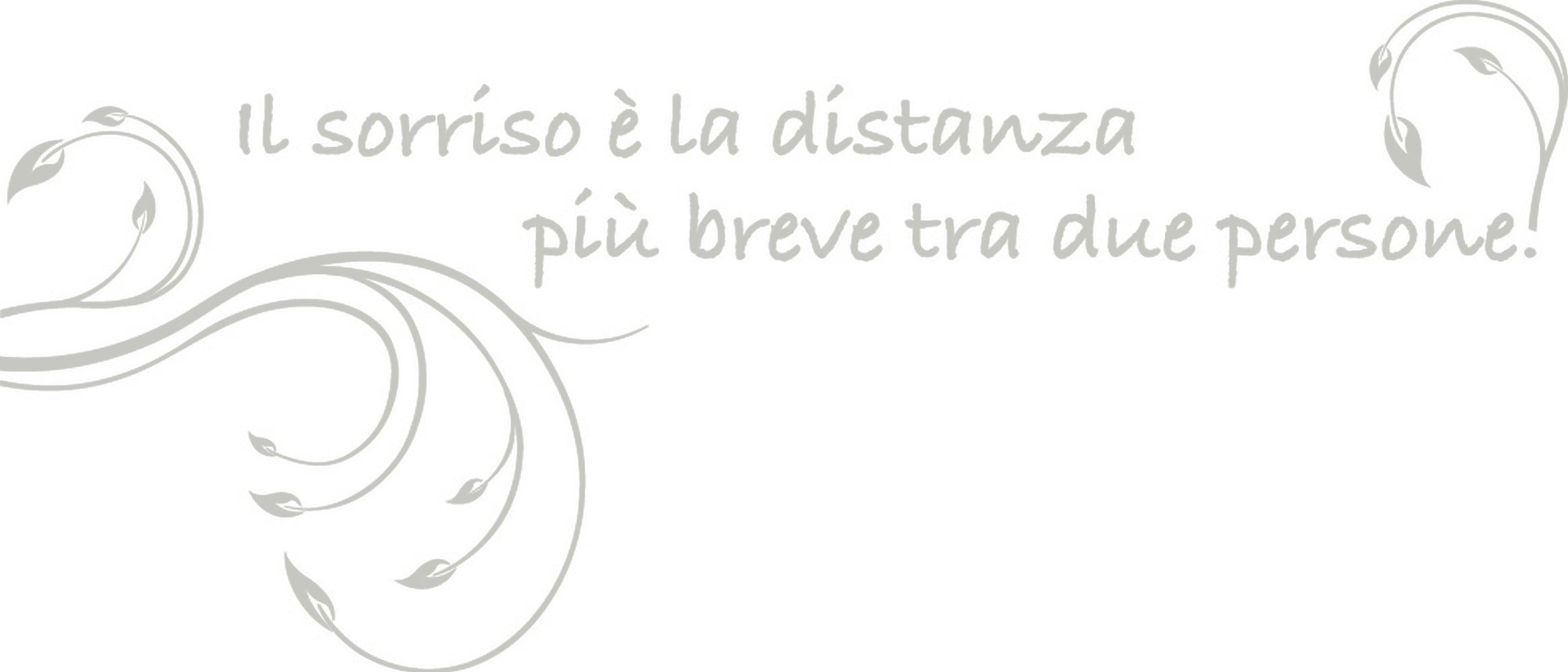 Wall Stickers Il sorriso MyCollection