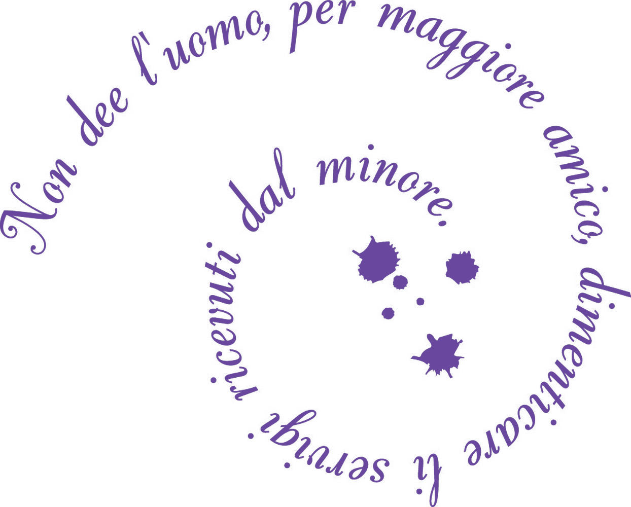 Wall Stickers Non dee l'uomo MyCollection