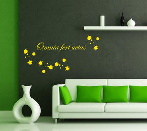 Wall Stickers Omnia fert aetas MyCollection
