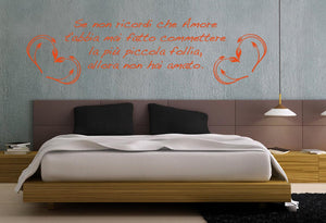 Se non ricordi Wall Stickers MyCollection