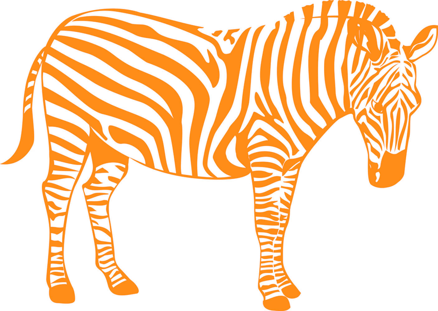 Wall Stickers Zebra MyCollection