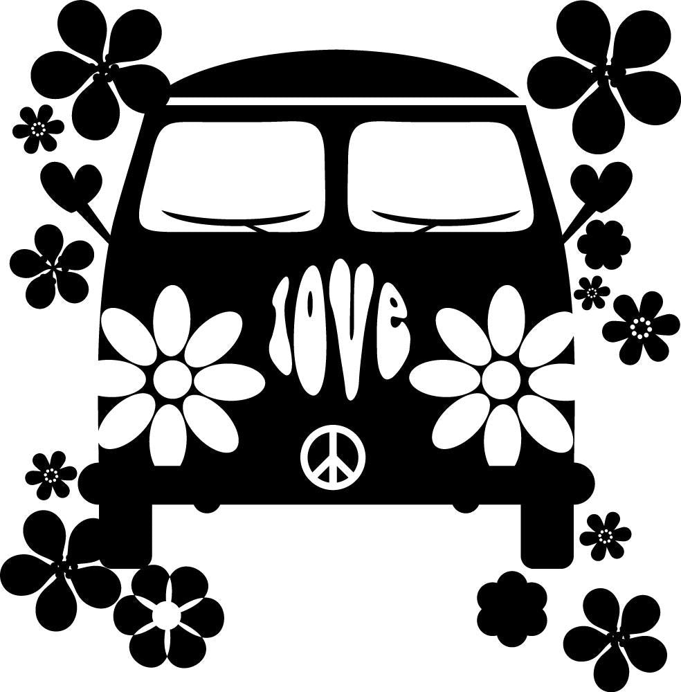 Wall Stickers Hippie MyCollection