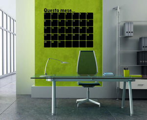 Questo Mese Wall Stickers MyCollection