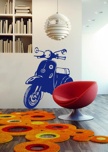Vespa Wall Stickers MyCollection