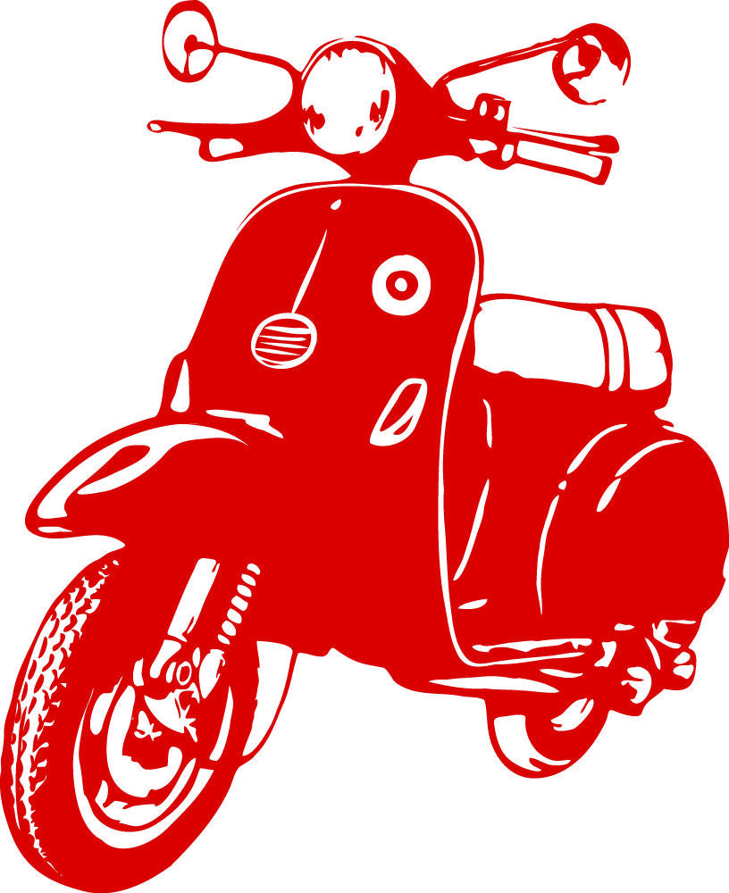 Wall Stickers Vespa MyCollection