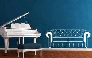 Wall Stickers Chester divano MyCollection