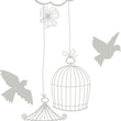 Wall Stickers Gabbiette e colombe MyCollection