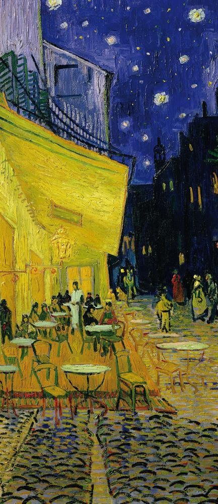 Rivestimenti Porte Terrazza Del Caffè Place Du Forum Arles 1888 Vincent Van Gogh Mycollection
