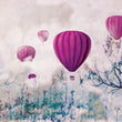Carta da parati Balloon & Clouds G MyCollection