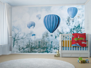 Carta da parati Balloon & Clouds B MyCollection