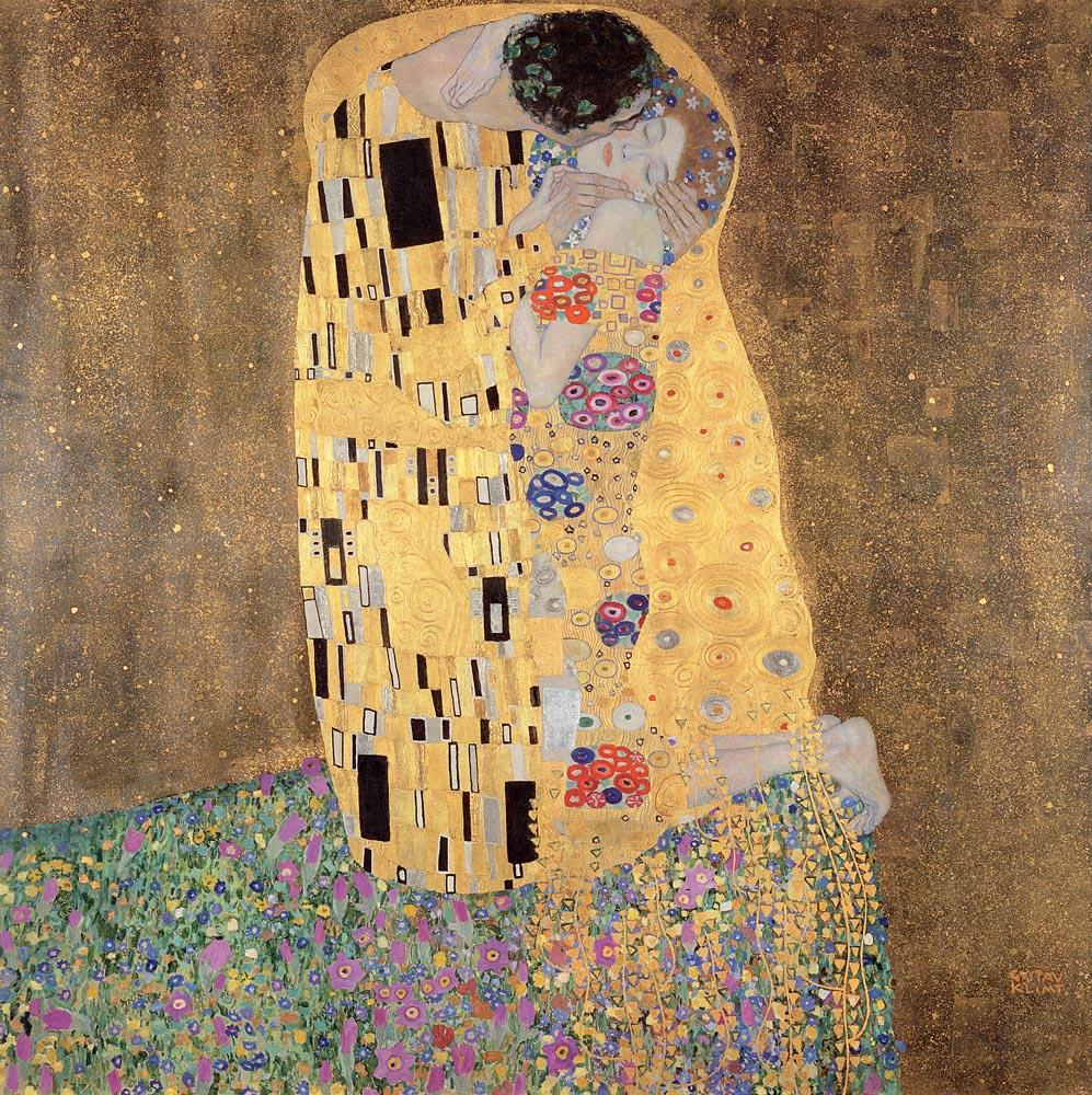 Carta da parati Il Bacio, 1907_1908 Gustav Klimt MyCollection