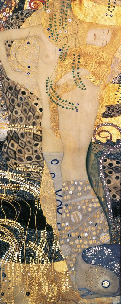 Tele decorative I Serpenti d'acqua, Gustav Klimt MyCollection