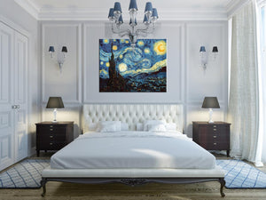 La notte stellata, giugno 1889 Vincent Van Gogh Tele decorative MyCollection
