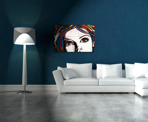 Color Face Quadri in Plexiglass MyCollection