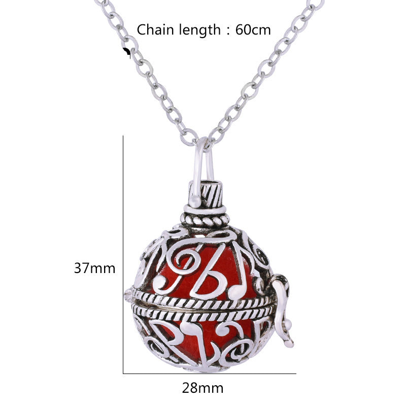 Pendant Necklace - Aromatic Essential Oil Diffuser (1 pc)