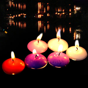 Wax Floating Candles (24 pcs)