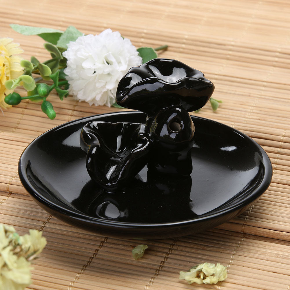 Ceramic Backflow Incense Burner (1 pc)