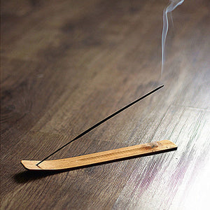 Natural wood Incense Stick Burner