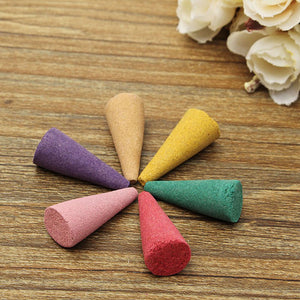 Aromatic Multi-fragances Incense Cones Box (80 pcs)