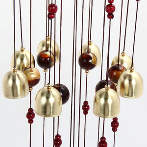 18 Brass Bells Wind Chimes
