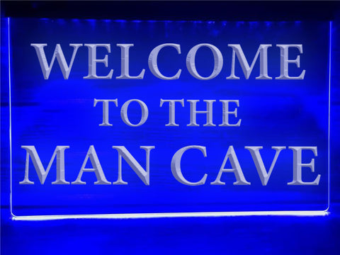 Image of Man Cave Illuminated Sign